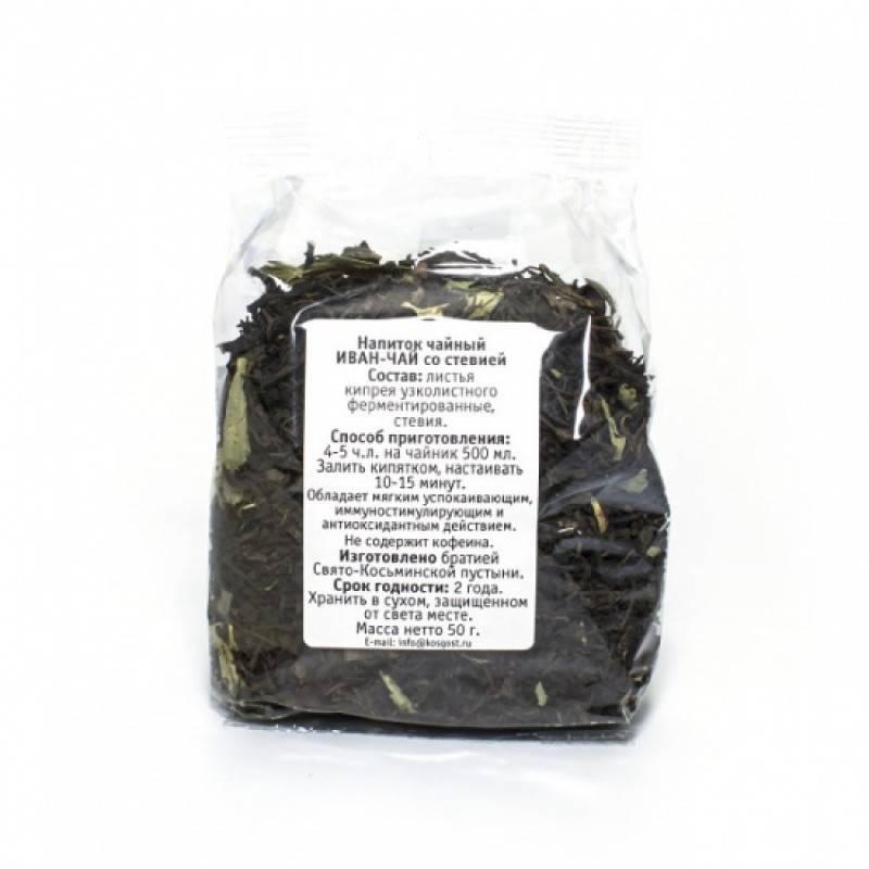 Чай со стевией и его свойства