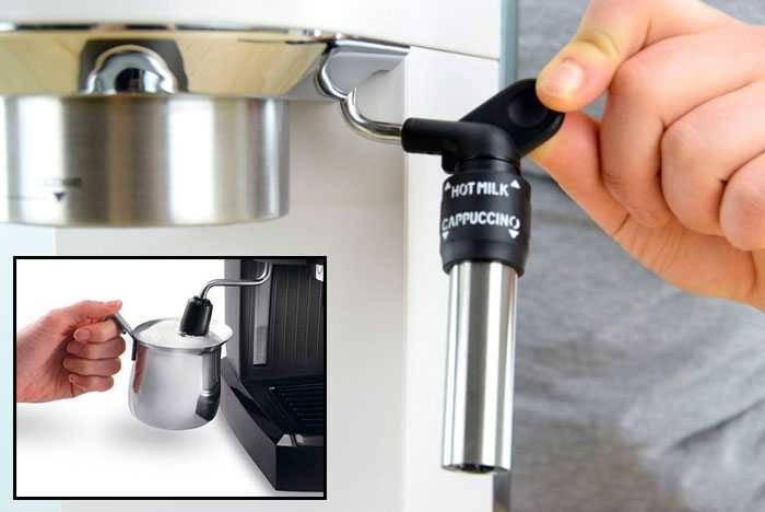 Рожковая кофеварка для дома, какую кофемашину выбрать: с капучинатором или без