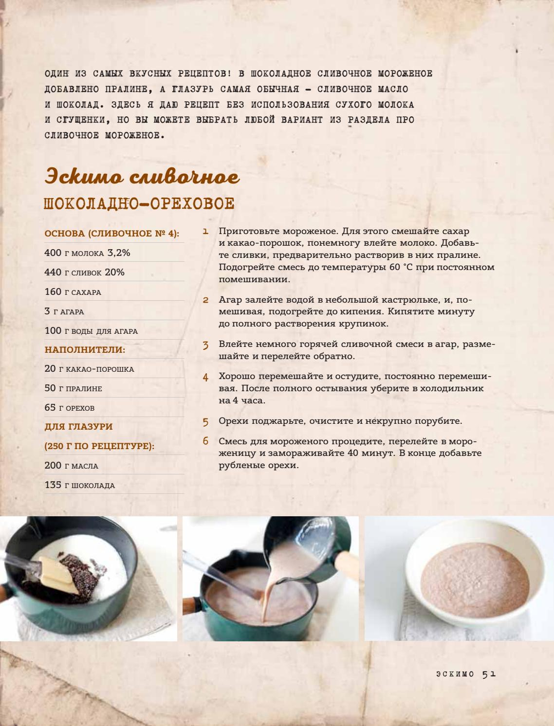 Шоколад со сливками: рецепты десертов и глазури