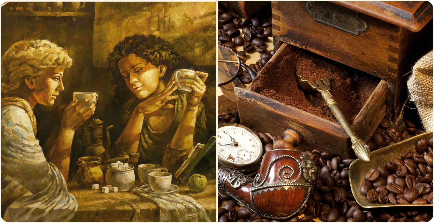 История кофе: появление и распространение кофе по миру