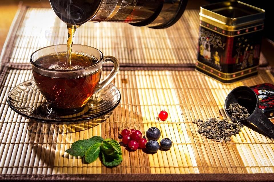 Чай из черноплодной рябины: рецепты приготовления