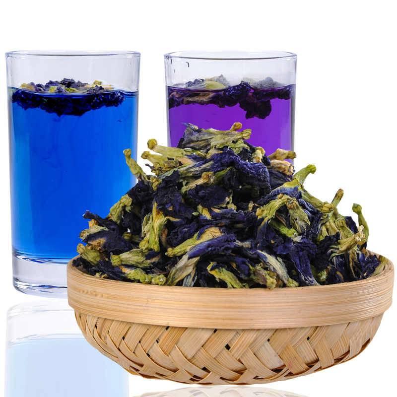 Свойства синего чая из тайланда и правила заваривания