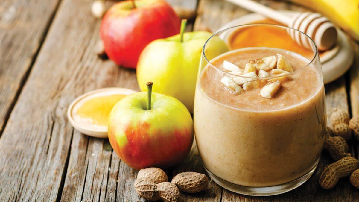 Яблочный смузи - лучшие рецепты