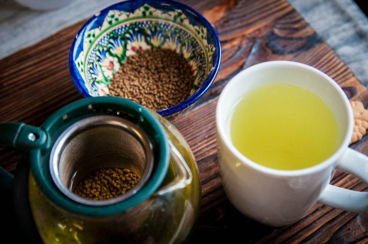 Особенности и полезные качества гречишного чая