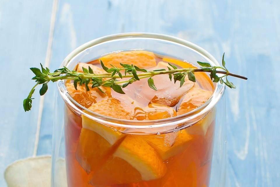 Чай с апельсином: его свойства, лучшие рецепты приготовления.
