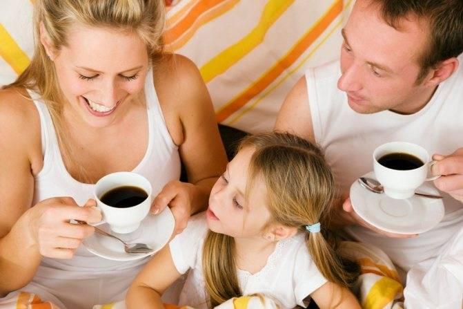 Можно ли детям пить кофе: советы родителям