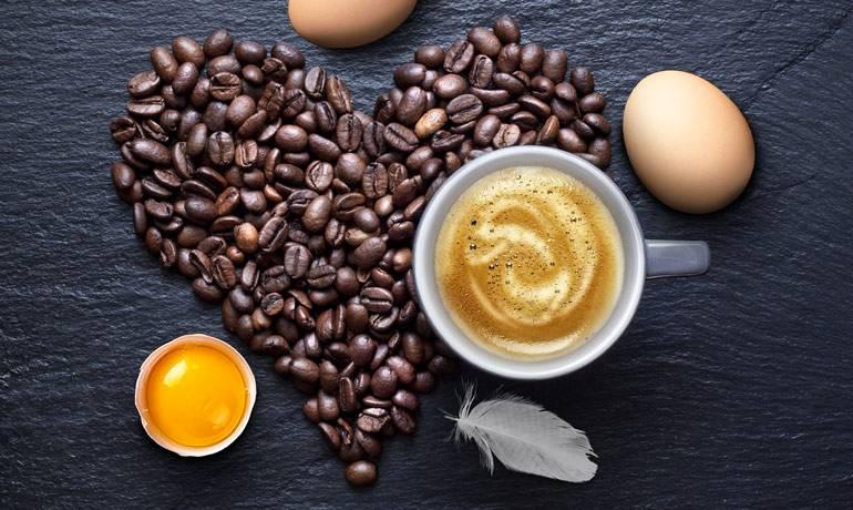 Рецепты кофе с яйцом (фото)