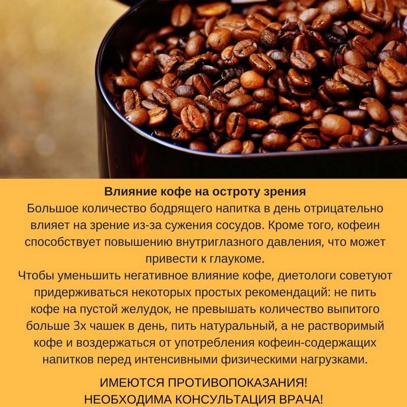 Кофе — польза и вред, как оно влияет на здоровье