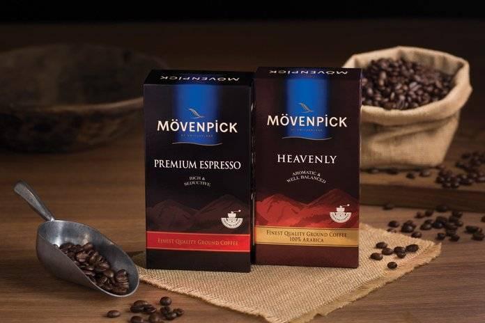 Кофе в зернах movenpick cafe crema 1 кг