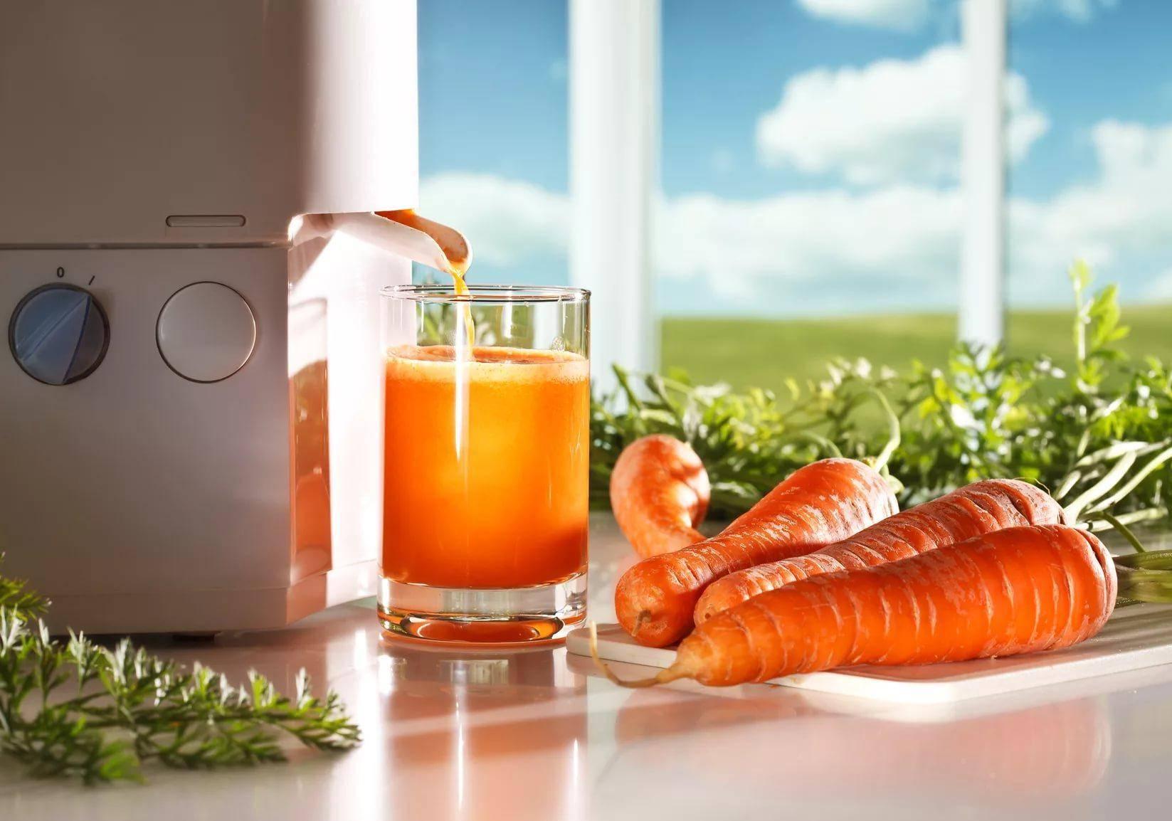Морковный сок на зиму и не только: пошаговые рецепты напитков из моркови