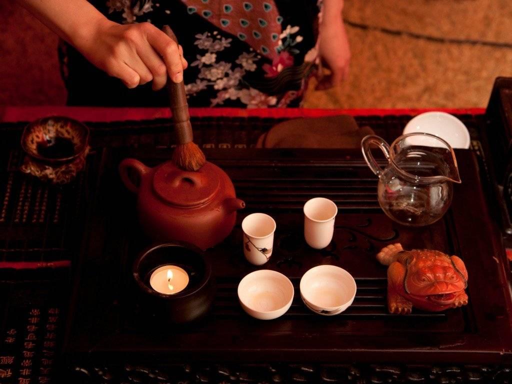 История японской чайной церемонии