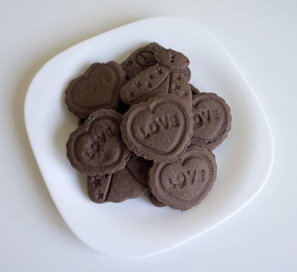 Как приготовить печенье из шоколада