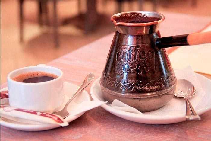 Какую турку выбрать для варки кофе: латунную, керамическую, медную, из нержавейки
