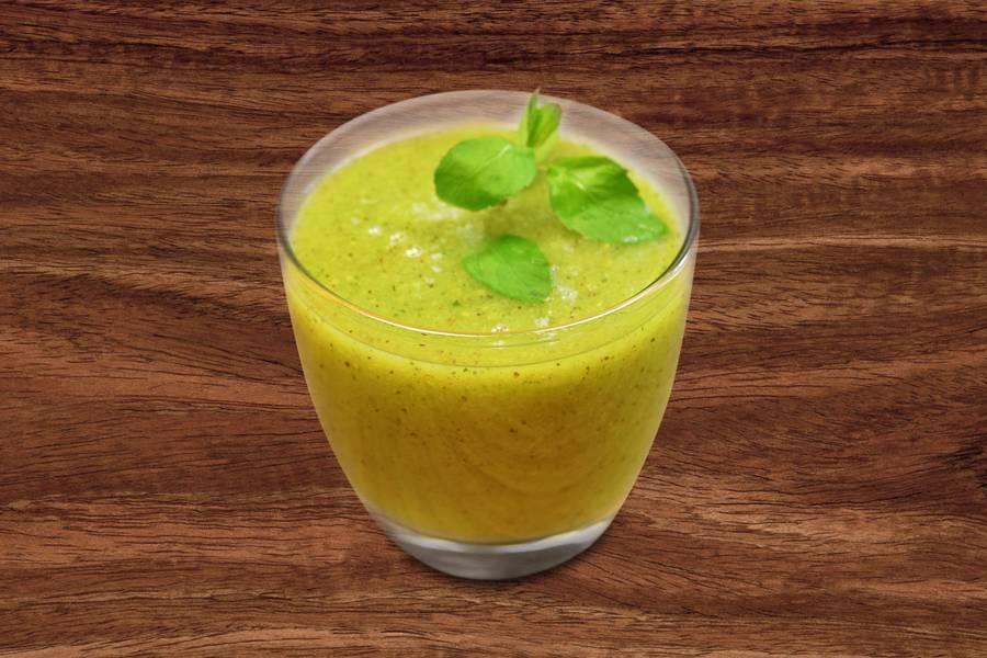 Тропический смузи с консервированным манго и ананасом: рецепт с фото пошагово