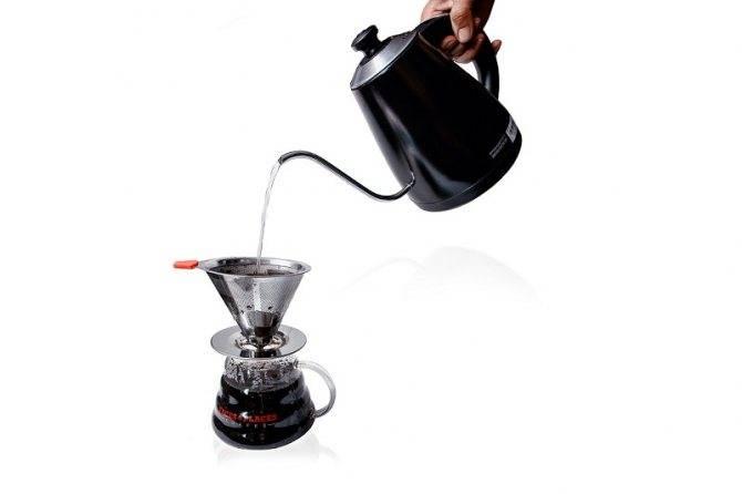 Пуровер, харио — базовые шаги приготовления кофе с онлайн виджетом