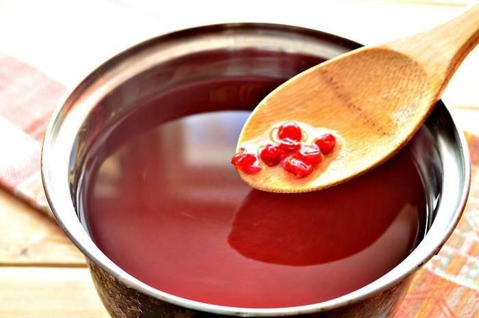 Кисель из клюквы. как приготовить кисель из замороженных ягод и крахмала