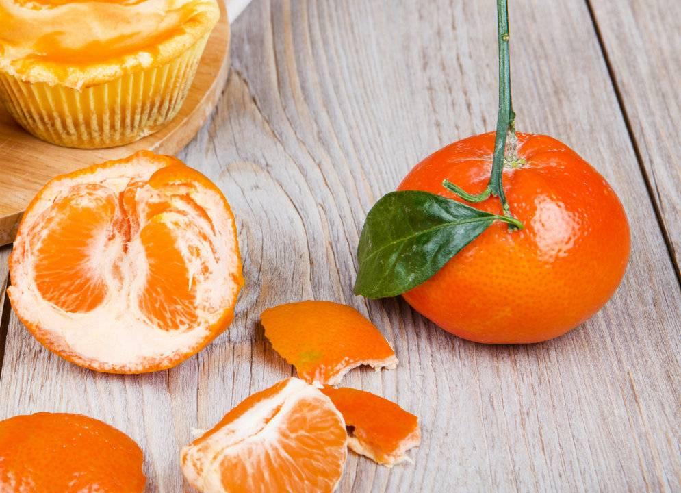 Рецепты чая с мандарином и корками фрукта