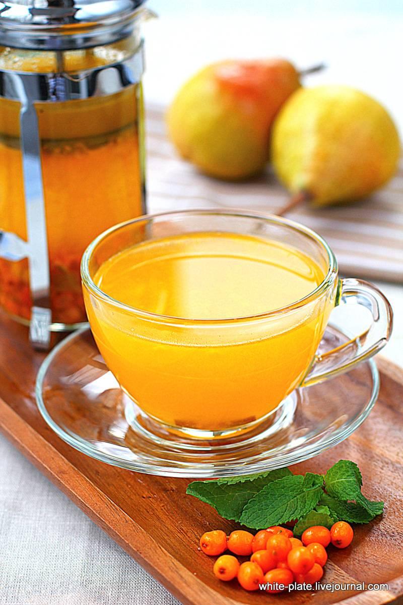 Чай из облепихи: полезные свойства и уникальные рецепты