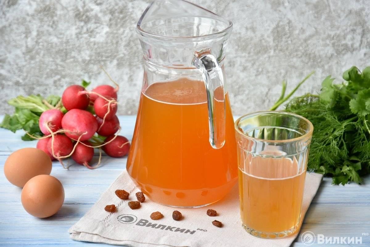 Как приготовить ягодный квас в домашних условиях, рецепты