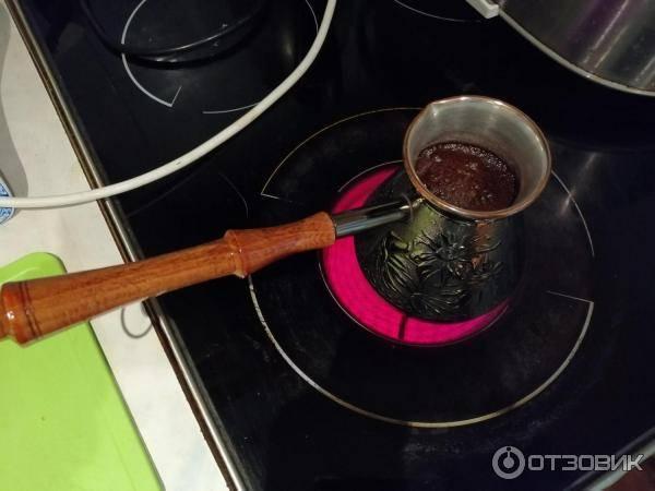 Как выбрать турку для индукционной плиты и как заставить плиту видеть обычный кофейник
