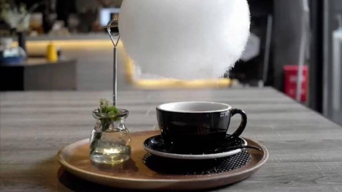 Кофе с облаком сахарной ваты - что такое, где подают