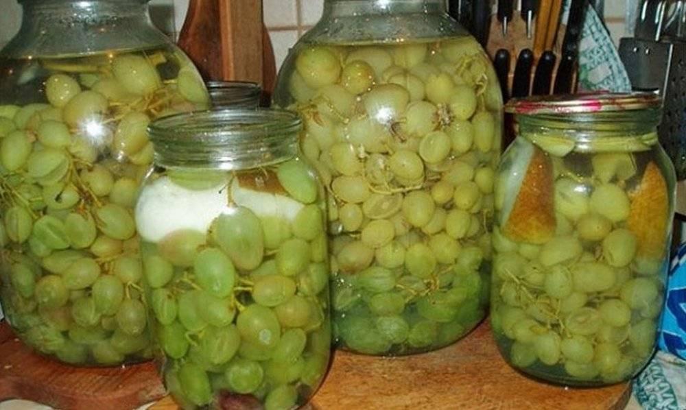 Как приготовить компот из винограда на зиму в домашних условиях?