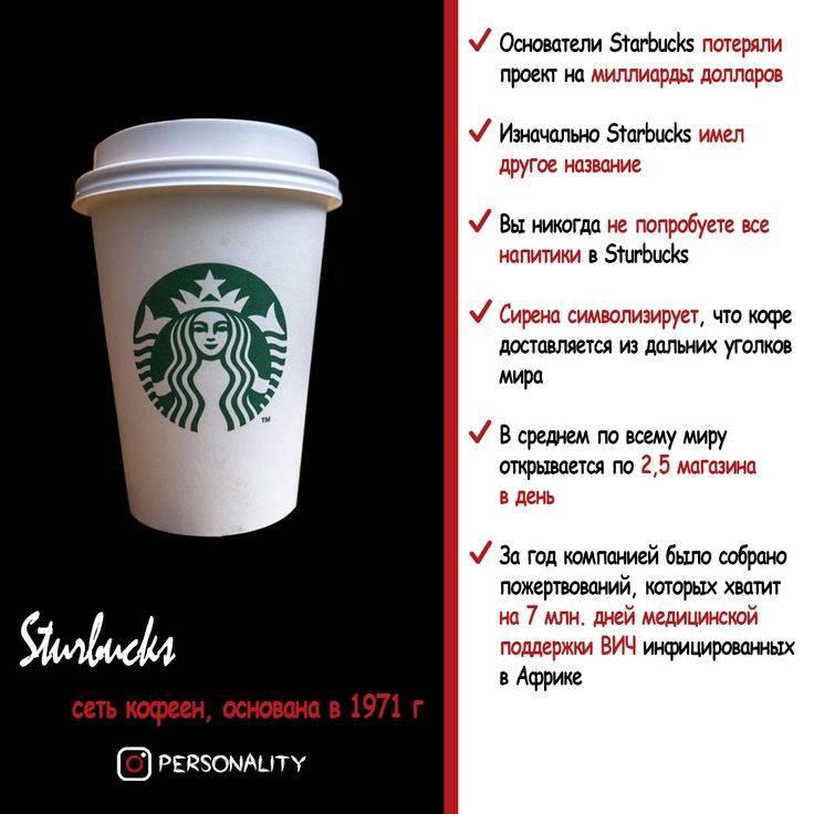 Старбакс - история успеха мирового бренда