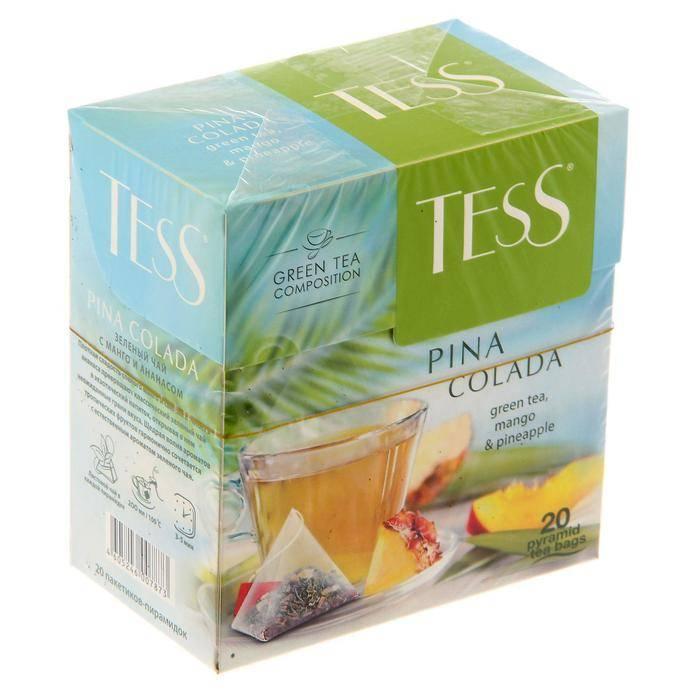 Чай в пакетиках тесс: ассортимент продукции
