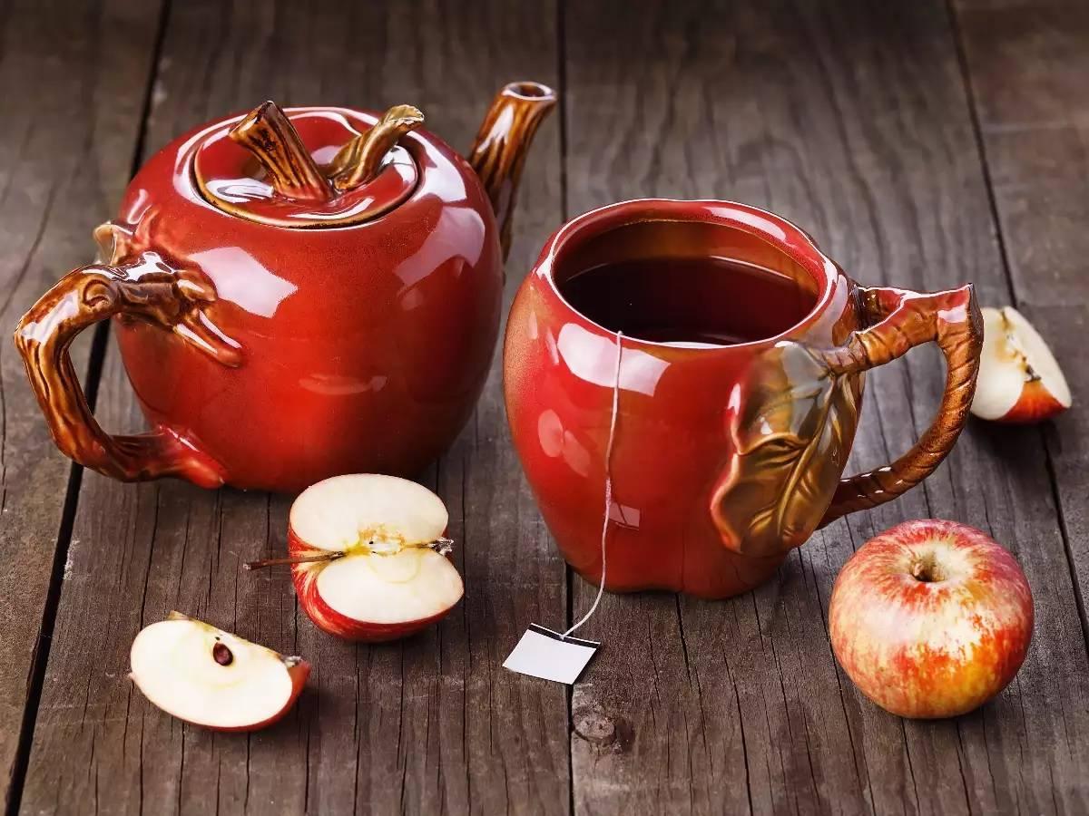 Как заваривать яблочный чай?