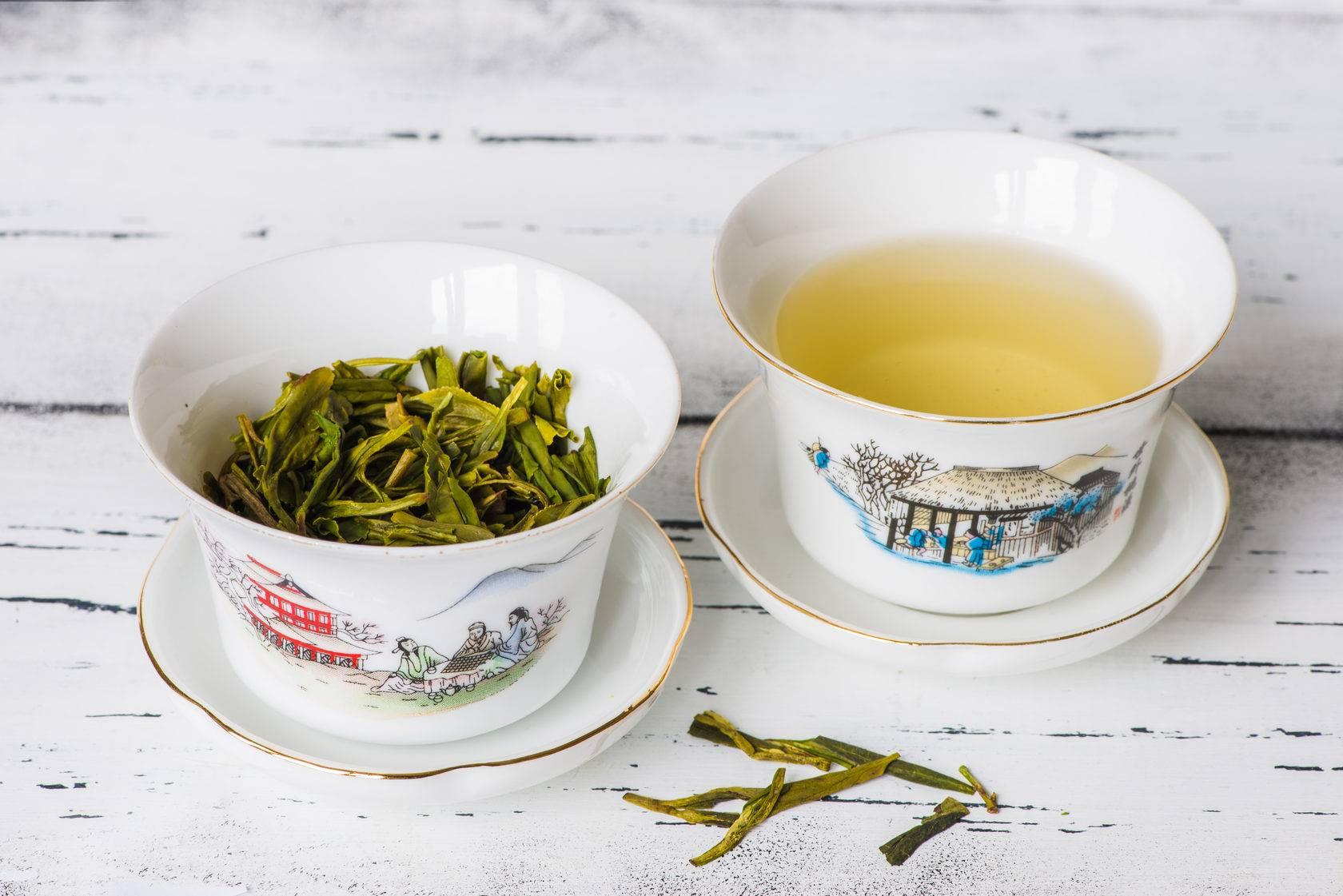 Свойства чая лунцзин и правила заваривания