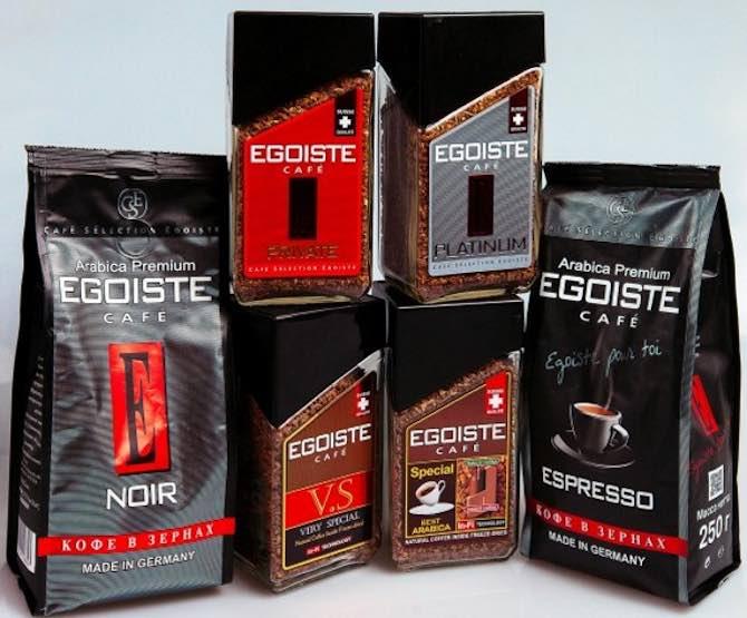 Кофе egoiste: состав, технологии, характеристика сортов