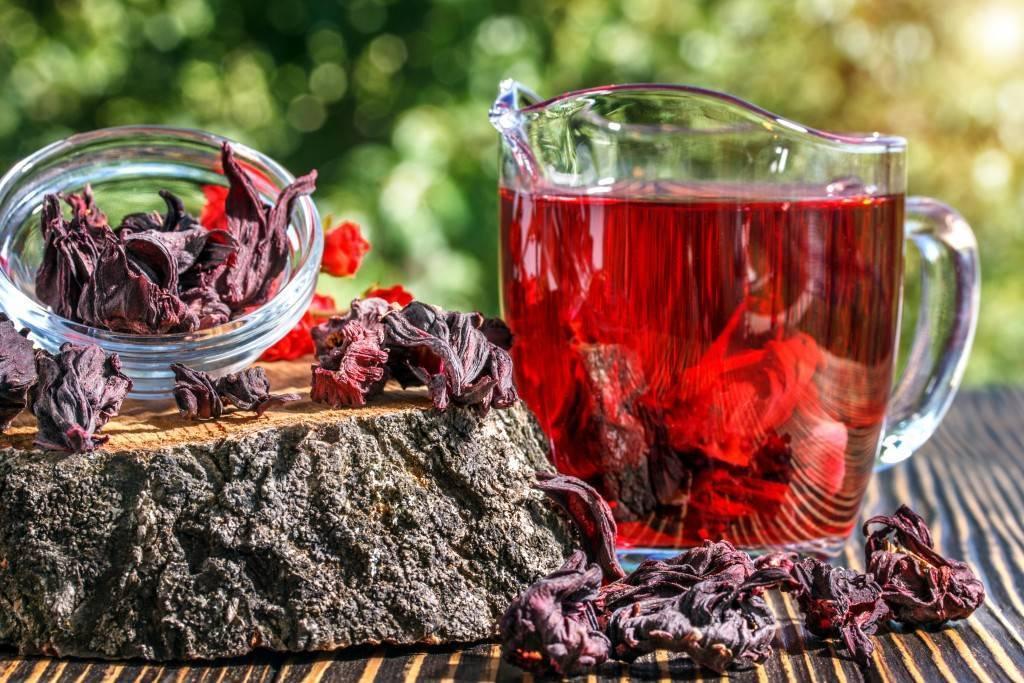 Чай каркаде для похудения.