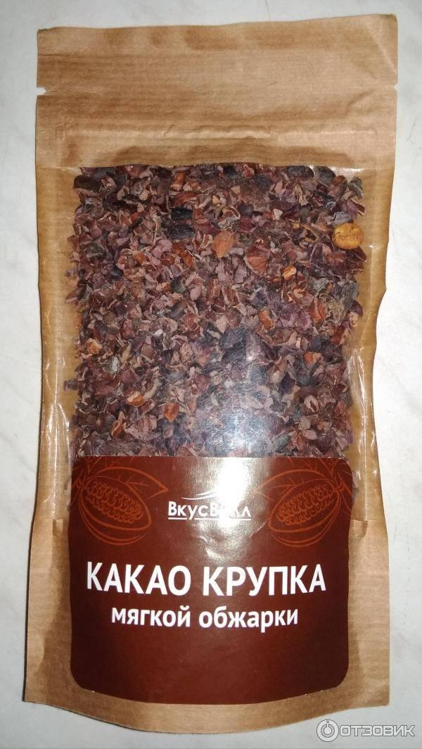Какао-крупка: что это такое, польза и применение