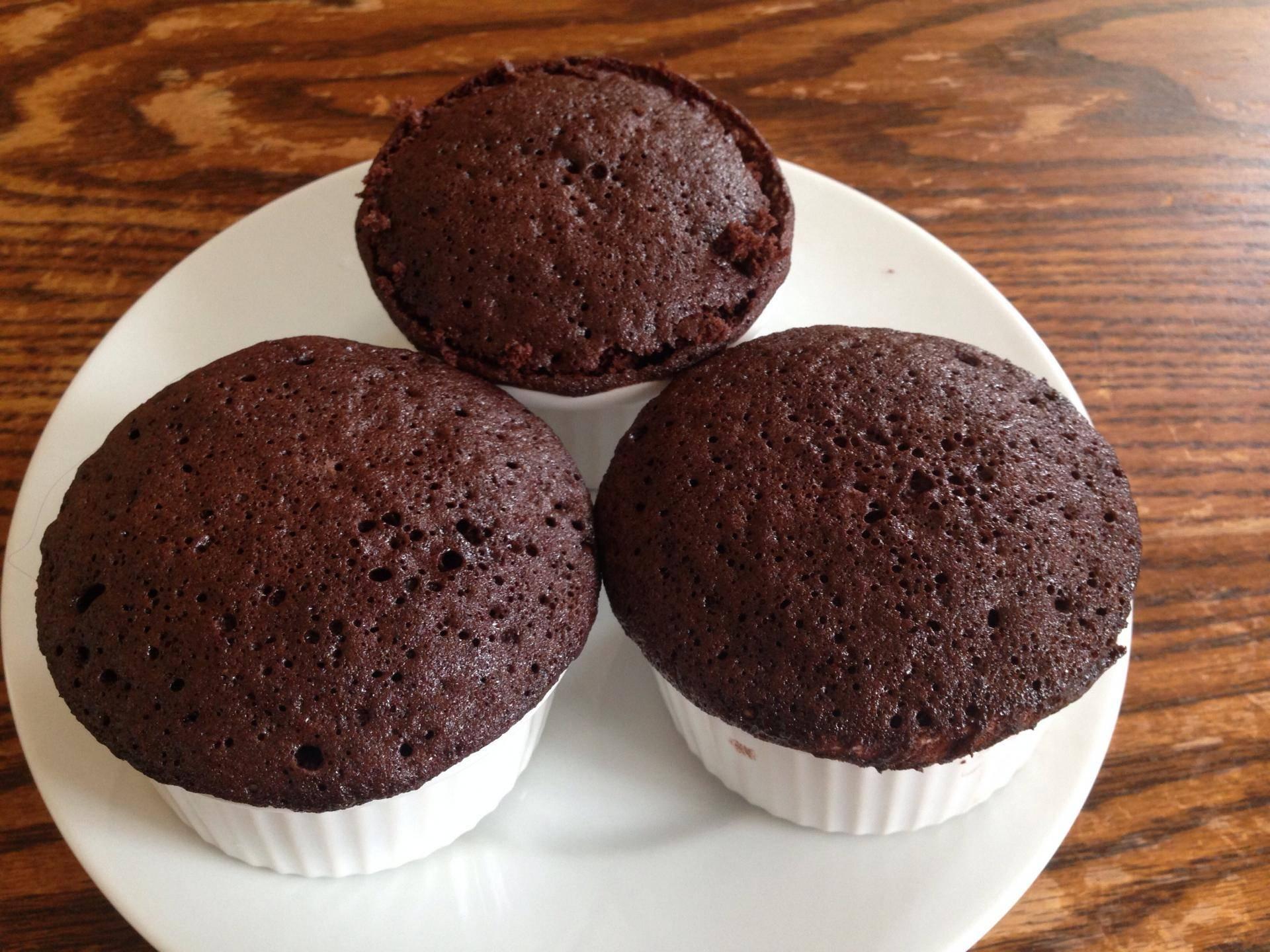 Шоколадные маффины: классический рецепт – как приготовить с начинкой внутри из какао