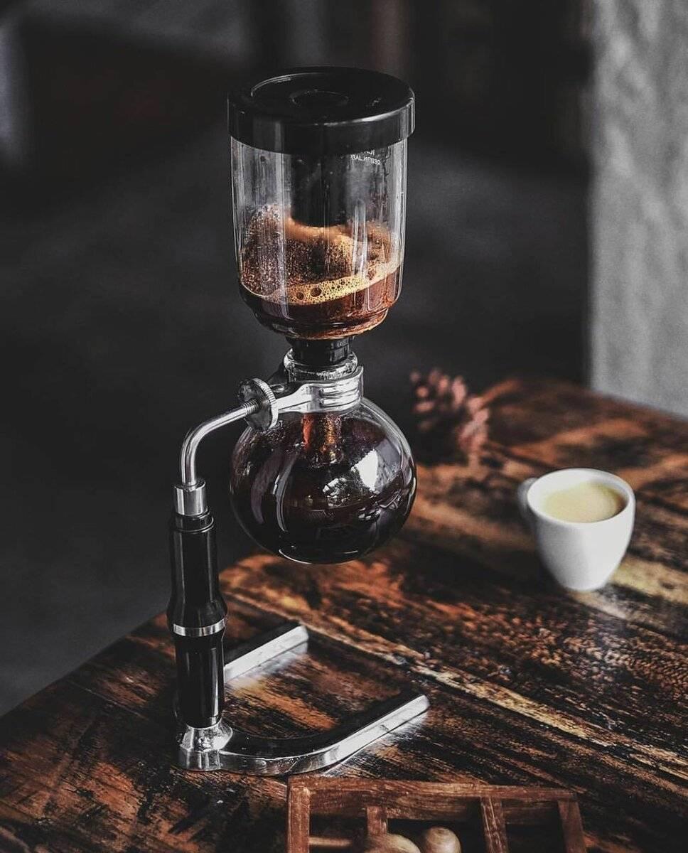 Сифон для кофе | все о кофе