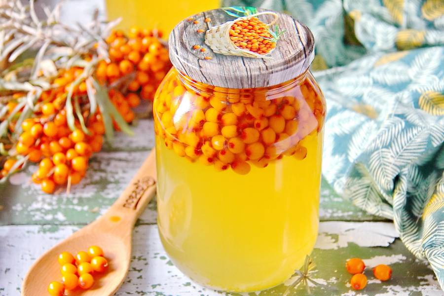 Рецепт кисель из облепихи. калорийность, химический состав и пищевая ценность.
