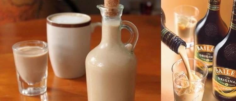 Ликер со сгущенным молоком (бейлис)