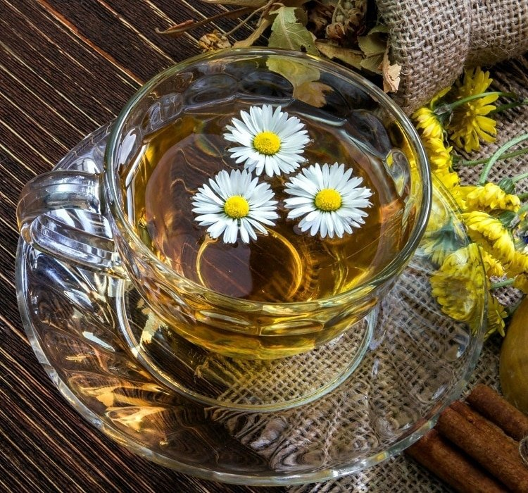 Чай с ромашкой: польза и вред для женщин