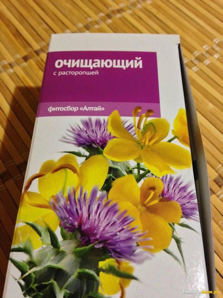 Чистка печени расторопшей в домашних условиях: рецепты шрота, масла и отвара