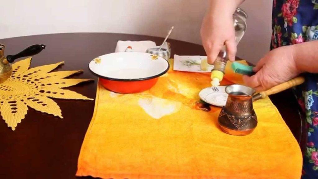 Медная посуда: чем чистить в домашних условиях, разные способы