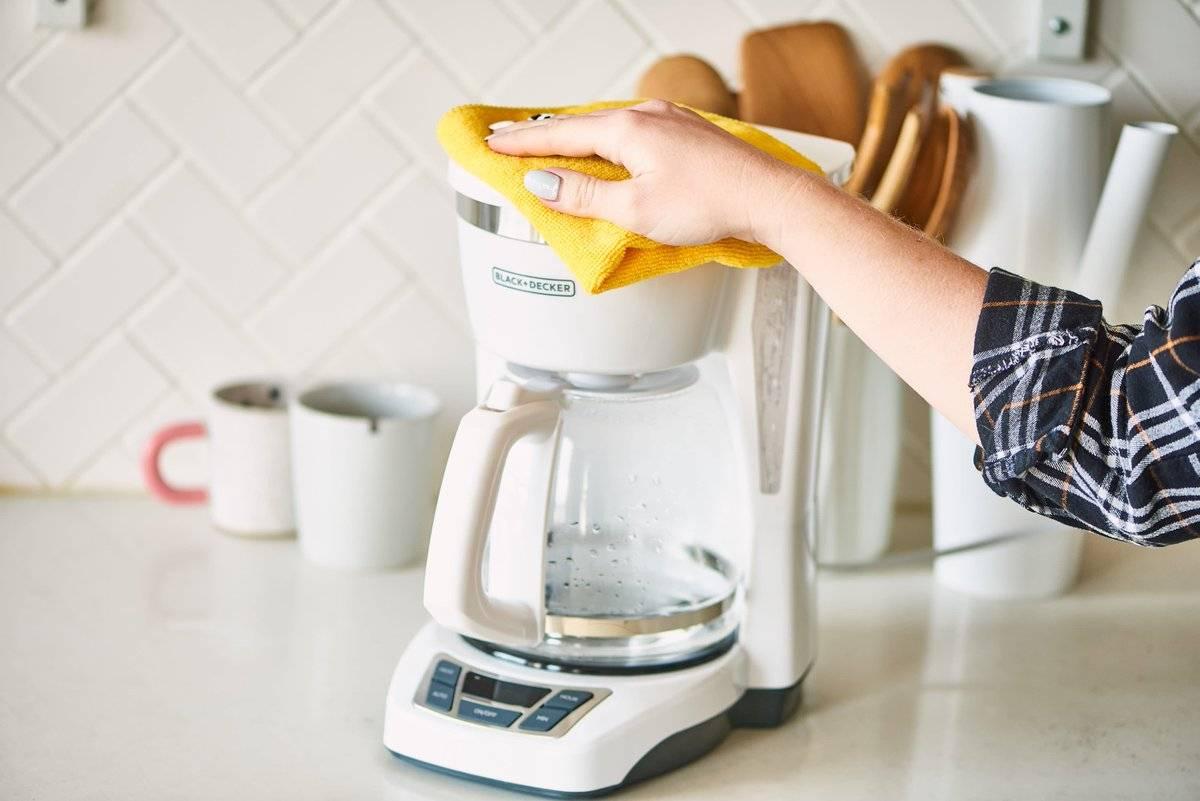 Как очистить от накипи кофемашину