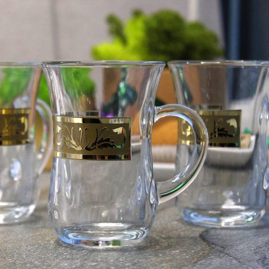 Выбираем восточный чайный набор: хрустальные армуды с блюдцами на две персоны