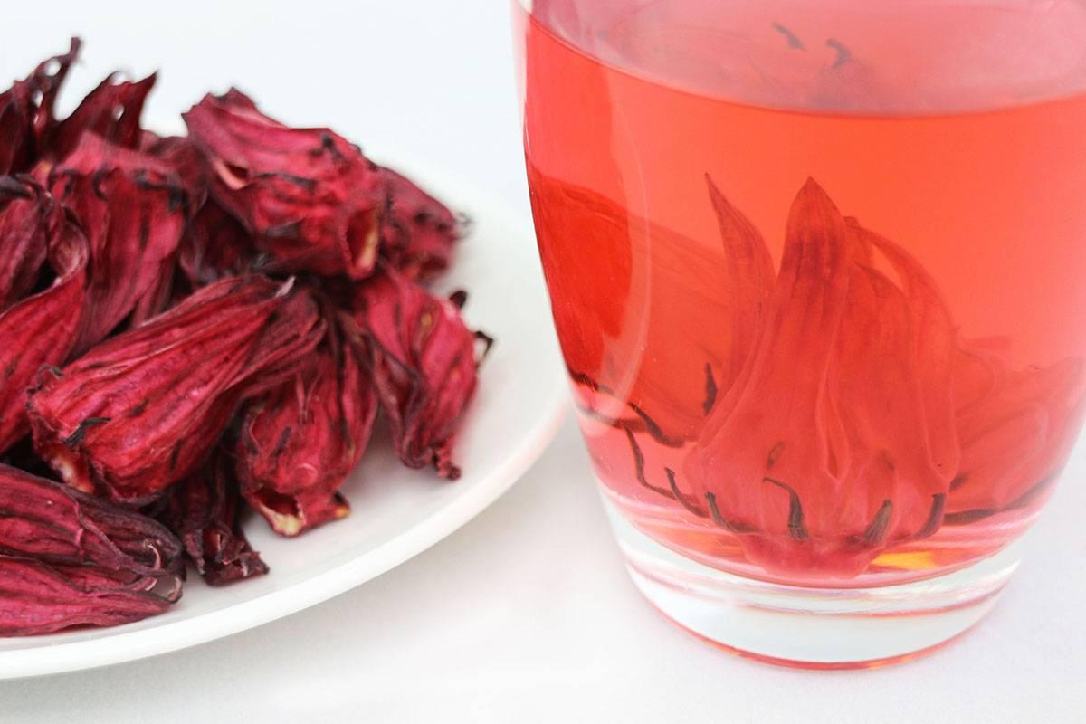 Завариваем чай с гибискусом – вкусный и полезный напиток