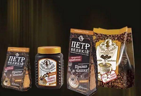 """Кофе """"петр великий"""" - сорта и отзывы"""