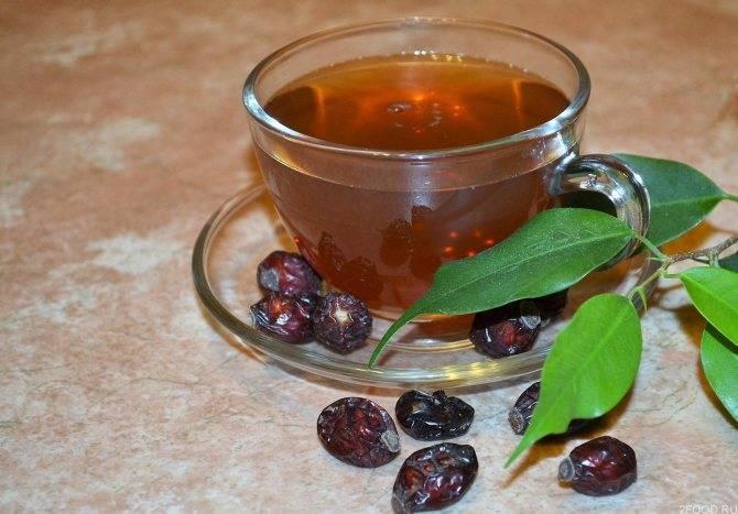 Чай с шиповником, польза и вред, рецепты