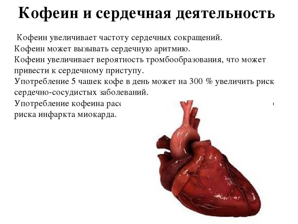 Влияние кофе на сердце