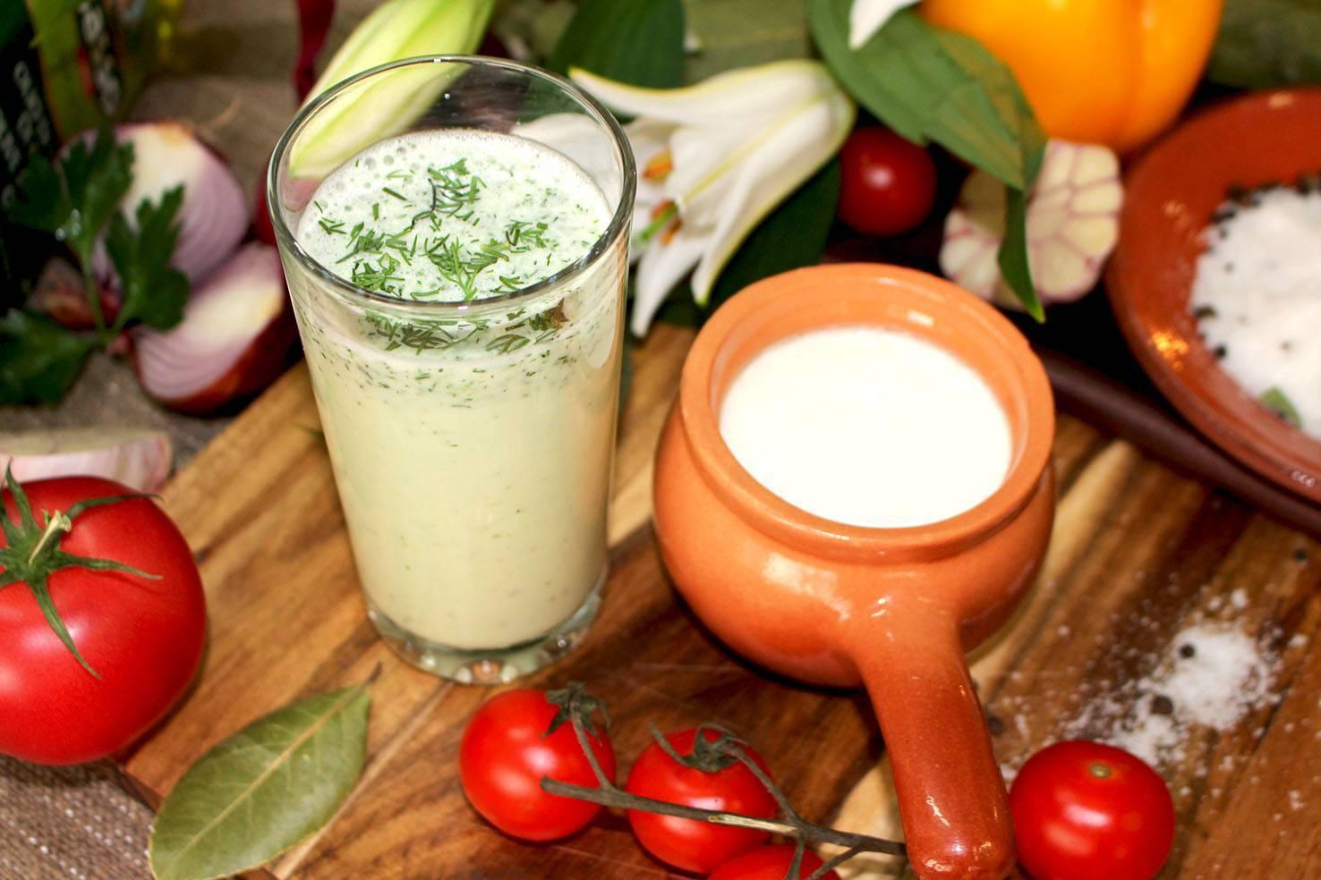 Айран — приготовление напитка, описание пользы и вреда для здоровья на ydoo.info