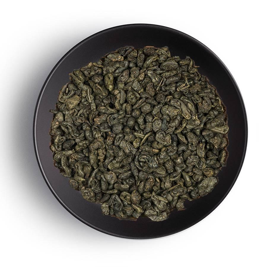 Ганпаудер зеленый чай польза и вред для
