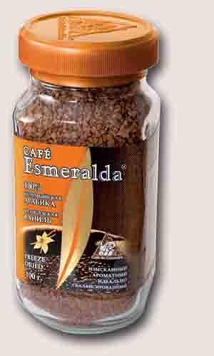 Кофе эсмеральда (esmeralda) - бренд, ассортимент зернового и растворимого напитка, отзывы