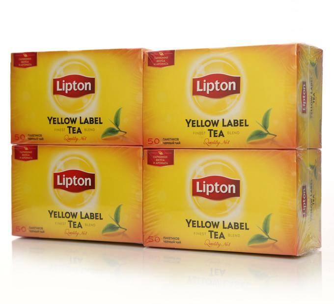 Чай липтон: ассортимент и особенности вкуса